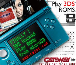 play roms 3ds hacked